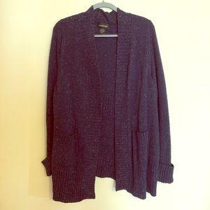 Long blue cardigan sweater. Lane Bryant 18/20